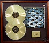 THE WHO - Double Platinum Discs and LP cover - TOMMY